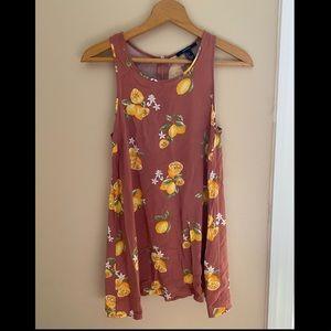 Summery Short Lemon Dress!!🍋🌸